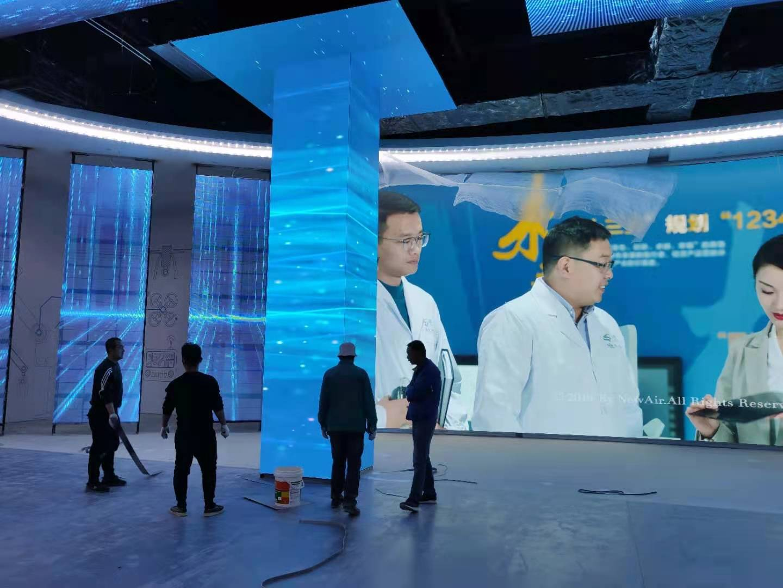 小间距LED显示屏才是各大展馆展厅的标配