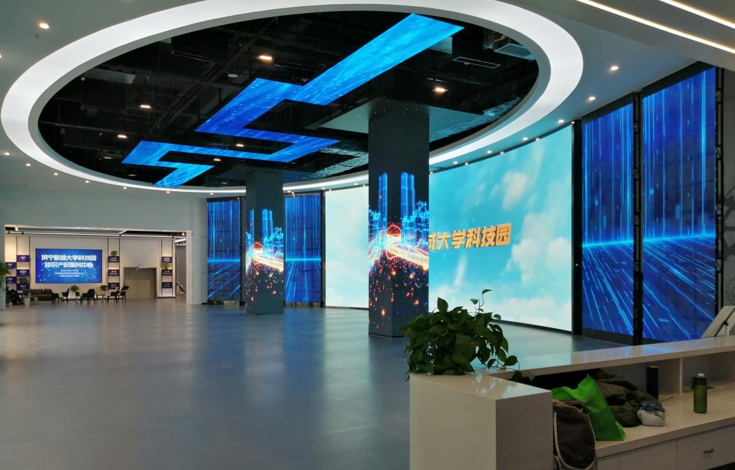 山东济宁新城大学科技展厅